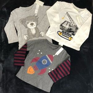 NWT Cute Long sleeve Tees size 24 month